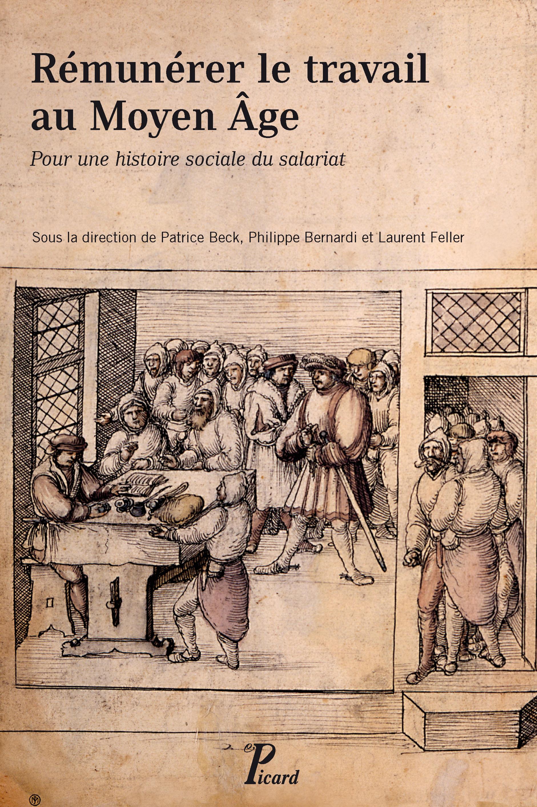 [livre] Rémunérer le travail au Moyen Age 9782708409712